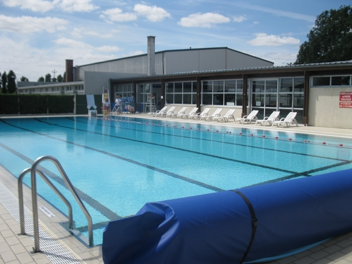 En images beauce la romaine site officiel de la commune for Piscine jules verne